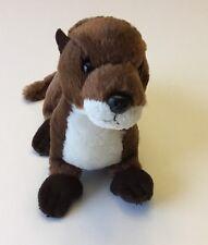 Aurora Flopsie 8 inch Sliddy- River Otter Stuffed Animal