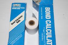 "9 Rolls Bond Calculator Printer Rolls 1.5"" X 32' P1-D P3-D P5-D P6-D P7-D P8 SRK"