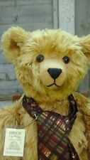 ORSON Large OOAK Artist Teddy Bear By Bears Paw Collectables - Stunning!