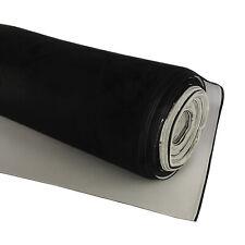 Black Suede Headlining Fabrics Roof Lining Cars Auto Liner Modification 1.5Mx2M