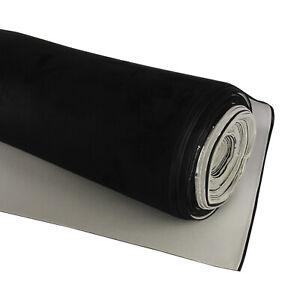 Headlining Suede Fabric HeadLiner Roof Trunk Modification Renewal Black 1.5Mx2M