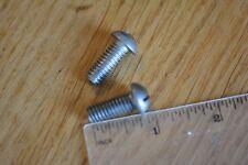 """Whitworth 5/16"""" x  3/4"""" stainless steel round head machine screw x 8"""