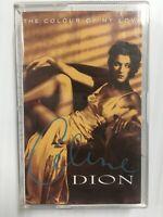 Celine Dion The Colour of My Love Audio Music Cassette Tape