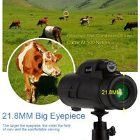 80X200 Large Ocular Waterproof Spotting scope Night Vision Monocular Telescope