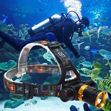 2000Lm Lamp T6 LED Waterproof Underwater Diving Head light Lamp Flashlight Torch