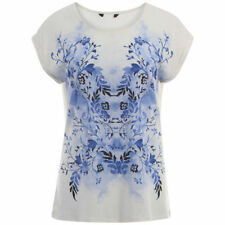 Polyester Floral Plus Size Graphic T-Shirts for Women