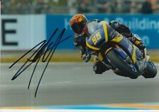 Louis Rossi mano firmado 7x5 Foto Tech 3 Moto 2 MotoGP 12.