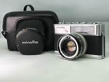 【As-is】Minolta Hi-Matic 7s 35mm Film Camera Manuaⅼ from JAPAN