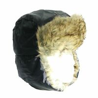 Trappeur Chapeaux unisexe doublé de fourrure Russe Ski Chapeau Hiver Chaud Thermique douche Proof