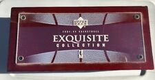 2004-05 UPPER DECK EXQUISITE COLLECTION BASKETBALL Cherry WOOD BOX