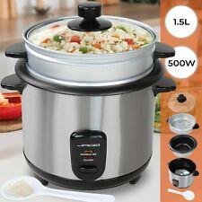 Reiskocher Dampfgarer Multikocher Reis Kochtopf Schnellkochtopf 4l Silber