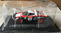 "DIE CAST "" SPEAR STRATOS RALLYE SANREMO - 1978 "" RALLY DEA SCALE 1/43"