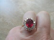Effy 14k Yellow Gold Ruby Ring.  Gorgeous!