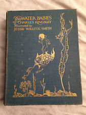 Charles Kingsley / Jessie Willcox Smith - Water Babies - 1st/1st 1919, 12 Plates