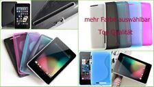 Cover Tasche Etui Case Asus Google Nexus 7 Tab let Silikon Bumper Schutz hülle