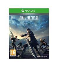 Pal version Microsoft Xbox One final Fantasy XV