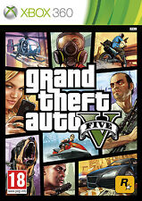New Grand Theft Auto V 5 GTA 5 Xbox 360 Rockstar UK PAL Sealed Game
