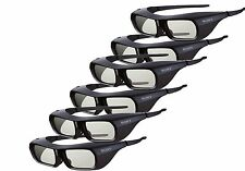 6X Genuine Sony TDG-BR250/B 3D Active Eyewear Glasses Rechargeable for Sony TV