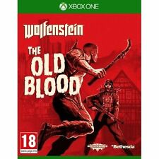 Wolfenstein The Old Blood Xbox One Game - Excellent - 1st Class Delivery