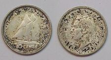 1943 Canadian Ten Cent Dime Canada Very Fine VF