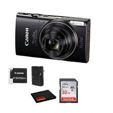 Canon PowerShot Elph 360 Hs Digital Camera Bundle with 32Gb Card