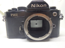 Nikon FM2 35mm SLR Camera body TESTED WORKING