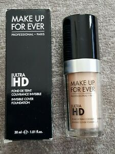 MAKE UP FOR EVER Ultra HD Invisible Cover Foundation 30 ml Shade R260. New