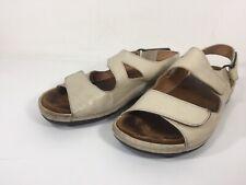 Wolky Womens Comfort Walking Sandals Size 36 Adjustable Beige 5.5