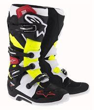 Stivali Cross Alpinestars Tech 7 Mx Boots Nero Rosso Giallo 45.5 EU / 11 US