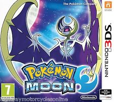 POKEMON MOON 3DS GAME BRAND NEW SEALED