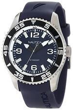 Nautica N11563G NST 07 Classic Blue Dial Blue Resin Strap Men's Watch