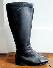 Luftpolster Ara Black Tall Boots Gore Tex Size 5 Polyamide EUC