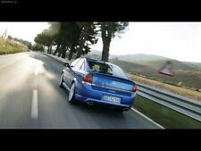 Genuine Opel Vauxhall Vectra C rear bumper  VXR Diffuser Dual Exhaust Spoiler