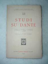 Dante Alighieri, Divina Commedia: Studi su Dante, Solmi Soranzo Arcari... Hoepli
