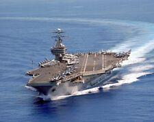 USS CARL VINSON CVN-70 AIRCRAFT CARRIER 11x14 SILVER HALIDE PHOTO PRINT