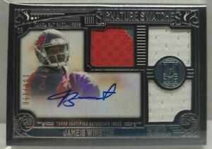 JAMEIS WINSTON RC AUTO #150/150 2015 TOPPS MUSEUM COLLECTION TRIPLE RELIC RPA