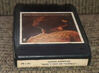 Dionne Warwick 8-Track tape MADE IT EASY ON YOURSELF p8-1161 LATE NITE BARGAIN