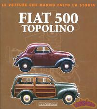 FIAT 500 TOPOLINO BOOK BOSSI HISTORY