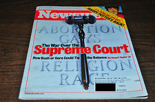 Newsweek Magazine The War Over The Supreme Court Harry Poter's Back July10 2000