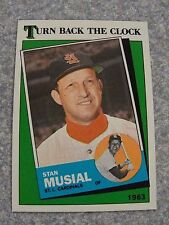 L#240 1988 Topps #665 Turn Back Clock (Stan Musial), NrMt condition