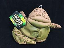 """Jabba The Hut: Star Wars Buddies NWT 7"""" beanbag plush"""