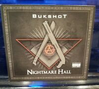 Bukshot - Nightmare Hall CD twiztid boondox horrorcore strange music undergound