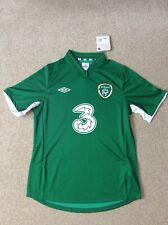 Republic Of Ireland Official Umbro Home Football Shirt 2012-2013 (BNWT)