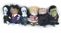 "2019 Addams Family 6"" Singing Squeezer Plush Dolls Entire Family Set Of 6 NEW"