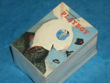 PLAYBOY 'APRIL'  Edition Complete Base Set Of 120 Trading Cards Vintage Issues
