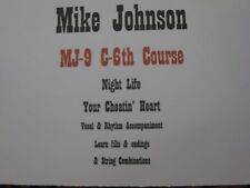 Pedal Steel Guitar C6 Course MJ-9 MJ9 Night Life/Your Cheatin' Heart