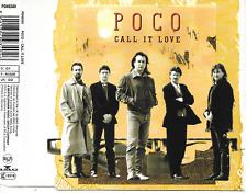 POCO - Call it love CD SINGLE 3TR Germany 1989 (RCA)