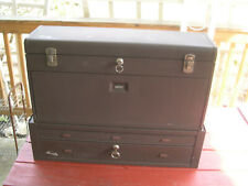 """Kennedy Top (28 1/2"""" long, 8 Drawer) + Bottom Riser Machinist Tool Boxes"""