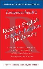 Russian-English Dictionary-ExLibrary