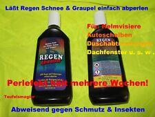 Regenabweiser Glasversiegelung 2 x 250 ml. Flüssiger Scheibenwischer
